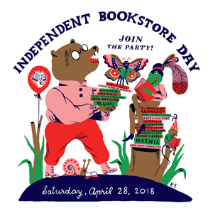 Independent Bookstore Day, Join the Party! logo