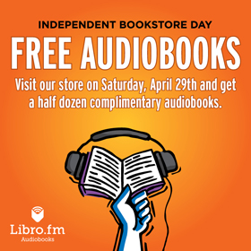 Free Audiobooks for Independent Bookstore Day