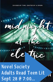 March, Novel Society, Adults Read Teen Lit, September 28 at 7:00