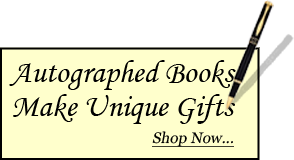 Autographed books make unique gifts shop now