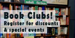 Book club registration at Hicklebee's
