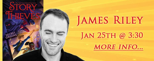 James Riley, January 25 at 3:30, more information...