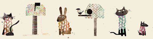 Jon Klassen animals illustration